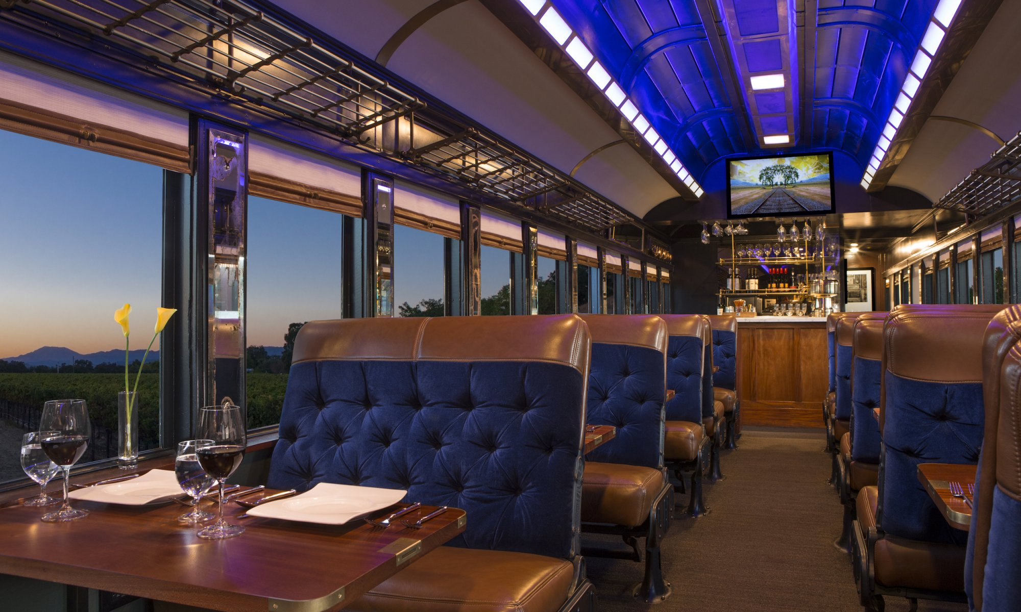 "ZoomAway Travel Enters Into ""White Label"" Agreement With The Napa Valley Wine Train"